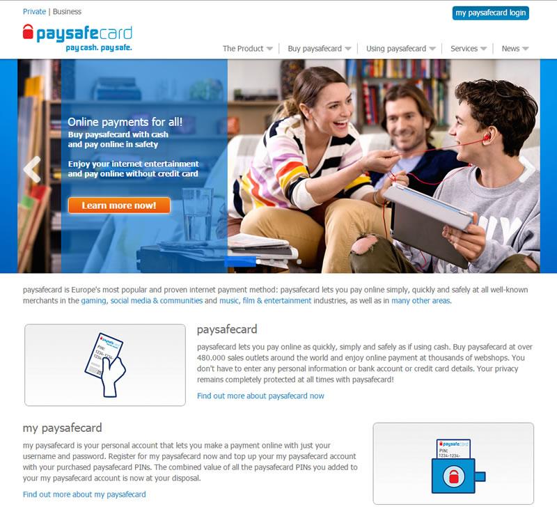 Paysafecard Usa Online
