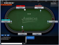 Americas Cardroom Table View