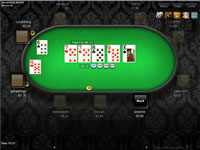 BetVictor Poker Table View