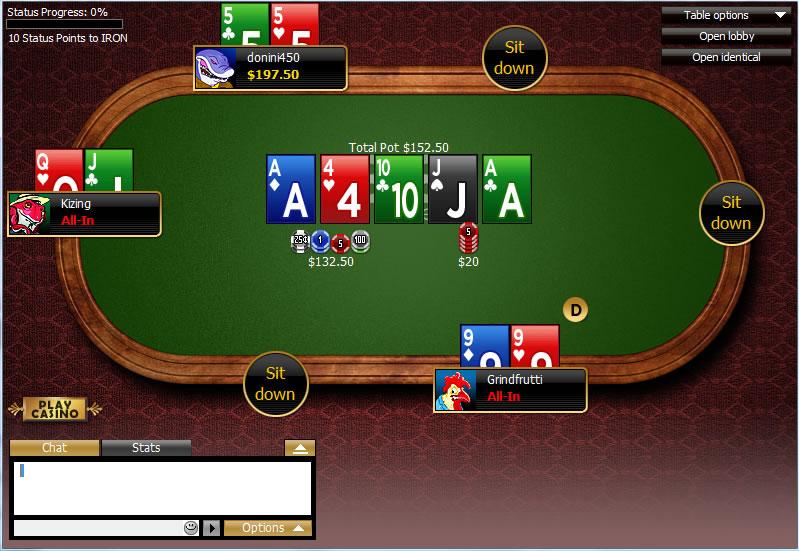 Canada Online Poker