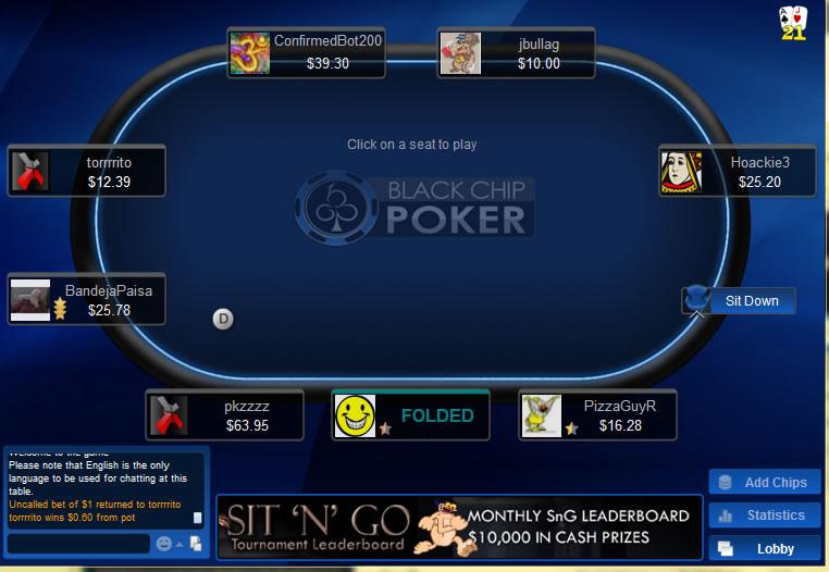 Black Chip Poker Us 2019 Free 500 Deposit Bonus