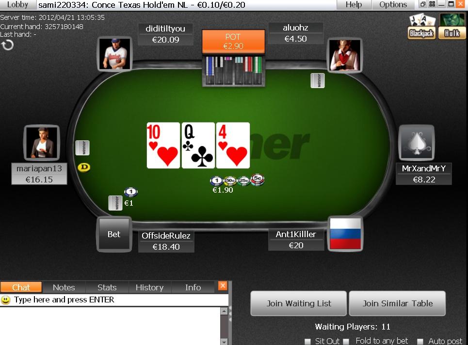casino roulette martingale