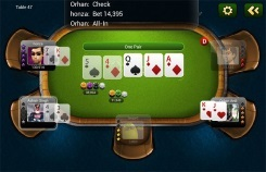 Live Hold'em Pro Table View