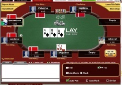 PurePlay Poker Table View