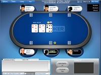 Sky Poker Table View