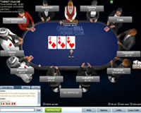 William Hill Poker Table View