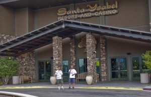 In February, mounting debts forced the closure of the Santa Ysabel Casino in California.