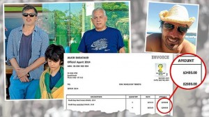 Alain Barataud's fake invoice convinced the Sergio Silva to hand over $6,000 for bogus World Cup tickets.