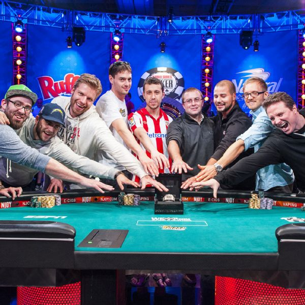 WSOP Final Table 2014