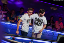 Olivier Busquet Defends Pro Palestine T-Shirt at EPT
