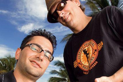 Antonio Esfandiari and Phil Laak Underground Poker