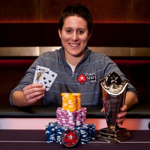 Vanessa Selbst is one of four pros participating in The PokerStars Protégé promotion. (Image: PokerStars)