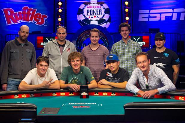 WSOP Main Event Bovada Odds
