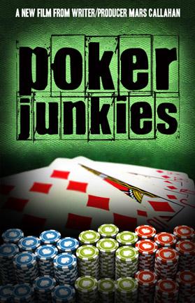 Mars Callahan Poker Junkies movie poster