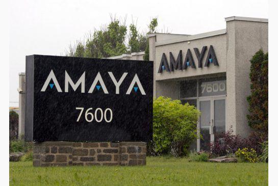 Amaya offices raided Canada