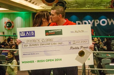 Patrick Clarke Irish Poker Open 2014