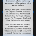Full Tilt errant NJ iOS app screenshot