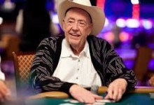 Doyle Brunson Keeps Smiling Despite Impending Operation