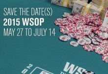 World Series of Poker 2015 Schedule Includes Online Bracelet and 68 Events