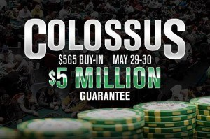 WSOP Colossus tournament pre-registration