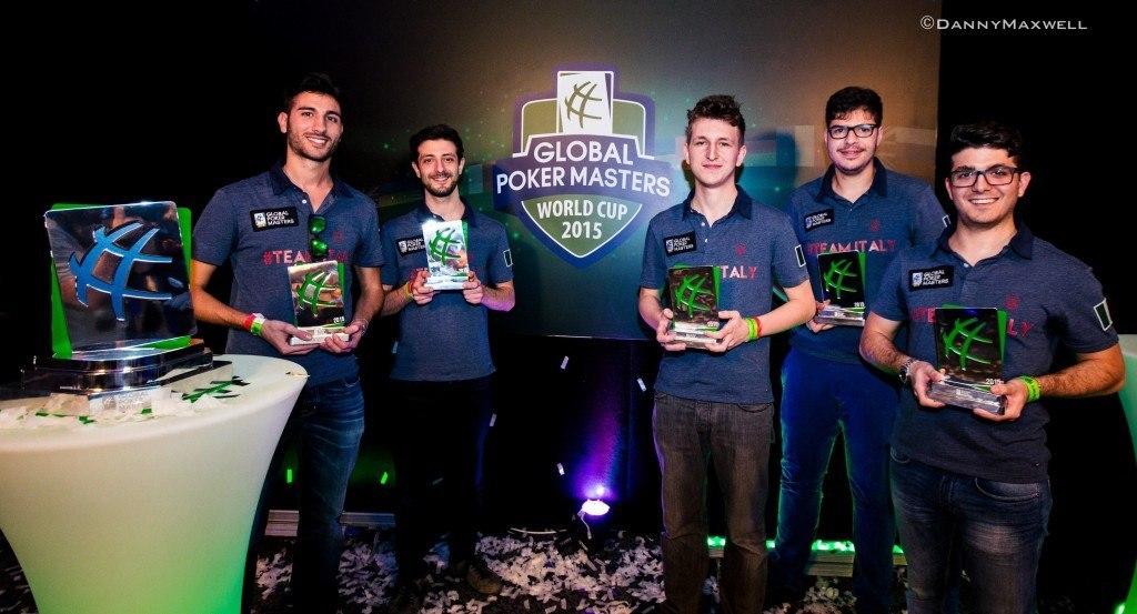 Global Poker Masters Team Italy