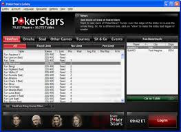 PokerStars tables freeze Tuesday morning
