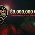Sunday Million 9th anniversary PokerStars