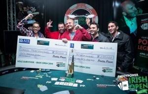 Ioannis Triantafyllakis wins the 2015 Irish Poker Open.