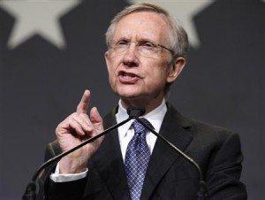Sen. Harry Reid willing to ban online poker if required.