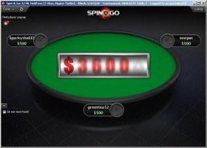 $1 Million Spin & Go PokerStars Twitch