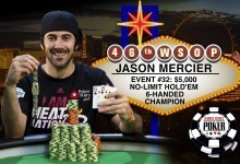 Mercier Wins Third WSOP Bracelet