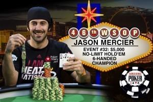 WSOP Jason Mercier Monster Stack
