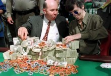 Stu Ungar Chip Count Card on the Auction Block at eBay