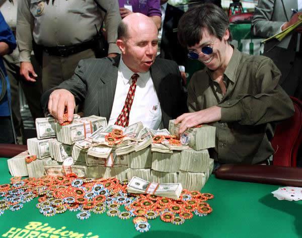 Stu Ungar three-time WSOP ME winner