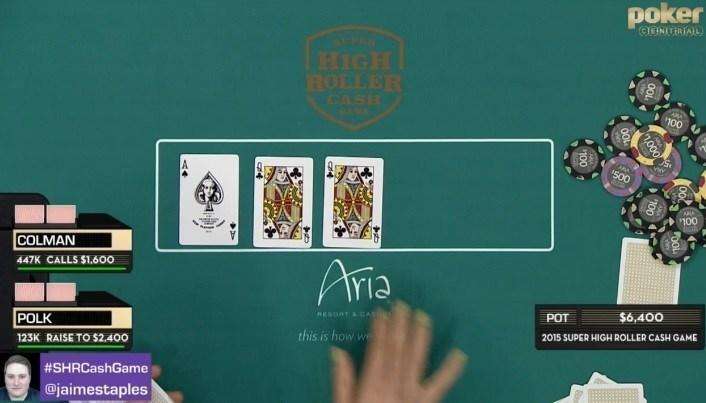 Aria Super High Roller cash game glitch