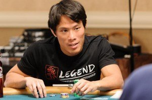 Jack Effel and Terrence Chan exchange harsh words after a WSOPE schedule change. (highstakesdb.com)
