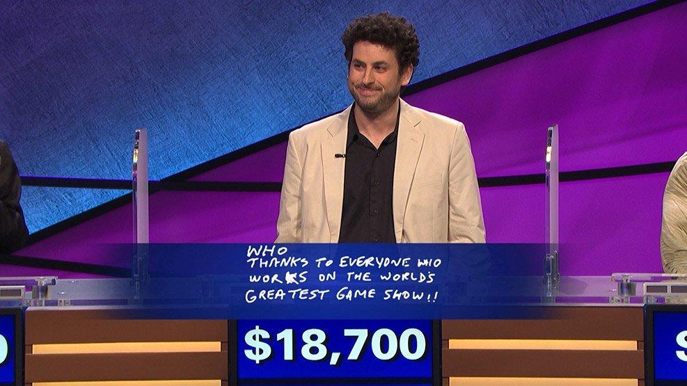 Alex Jacob wins Jeopardy Tournament of Champions