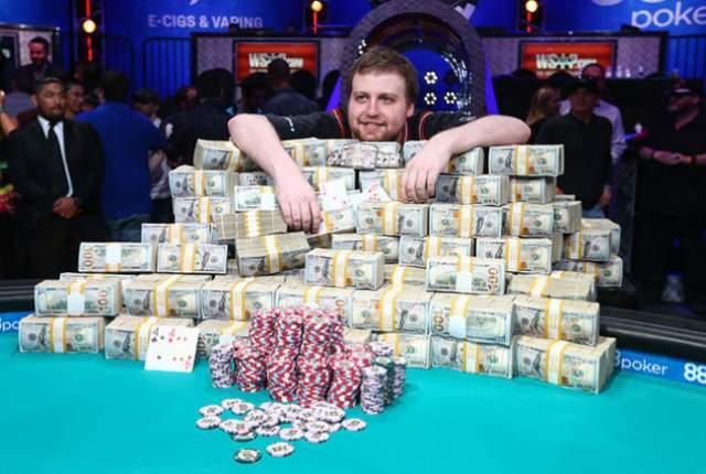 Joe McKeehen WSOP win IRS