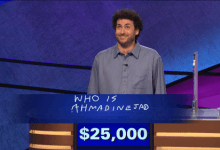 Alex Jacob Goes All-In for Jeopardy Tournament of Champions