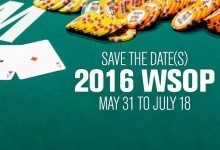 World Series of Poker 2016 Tournament Series Event Dates Released