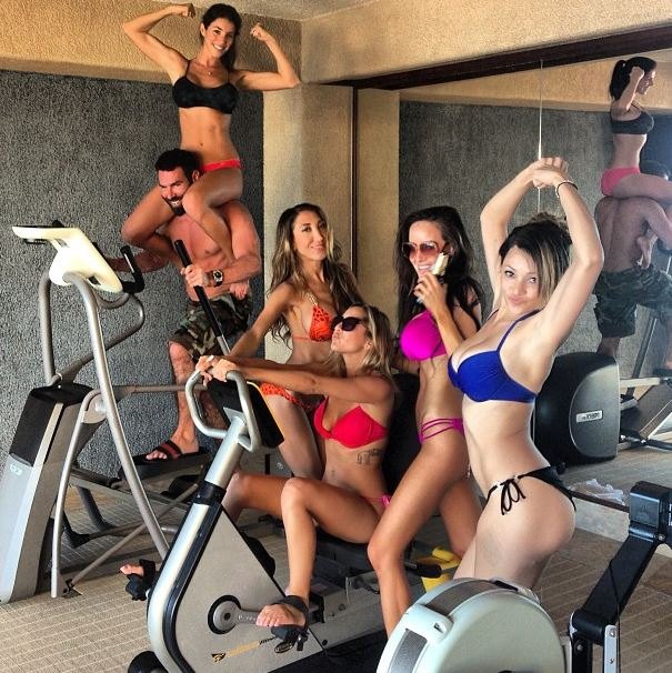 Dan Bilzerian $1.2 million LA to Vegas cycle bet.