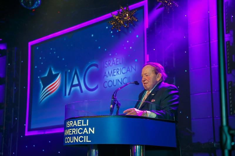 Sheldon Adelson Donald Trump 2016
