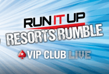 "PokerStars New Jersey Announces ""Run It Up"" Live Event as Marketing Push Continues"