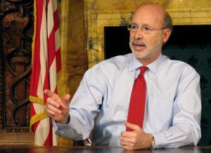 Pennsylvania Governor Prostate Cancer