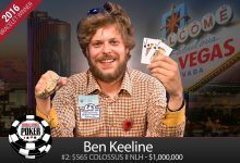 2016 World Series of Poker Daily Update: Colossus II Finds a Winner in Ben Keeline, Dealers Choice Goes to Lawrence Berg