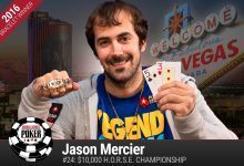 2016 World Series of Poker Daily Update:  Jason Mercier Having Summer of His Life