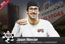 2016 World Series of Poker Daily Recap: Mercier Bets on Himself and Wins, Millionaire Maker Running Behind