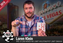 2016 World Series of Poker Daily Update:  Towner and Klein First Firsts, Negreanu and Hellmuth Dig for Gold