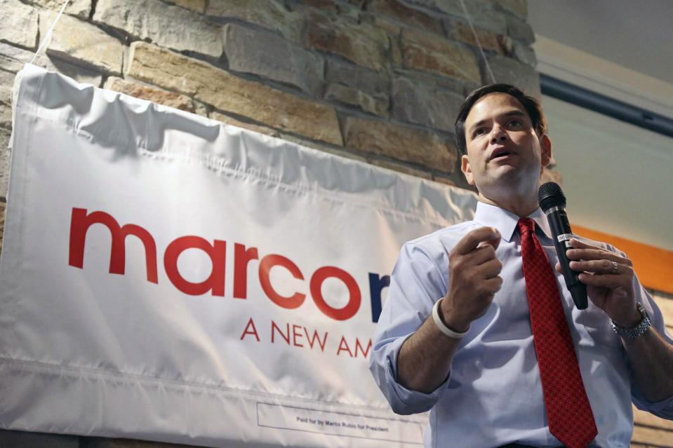 Marco Rubio back for Senate reelection