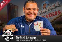 Rafel Lebron Knocks Out Main Event Champ Joe McKeehen in $3K Six-Handed Limit
